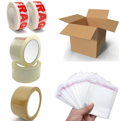 BOXES, OPP BAGS & TAPES