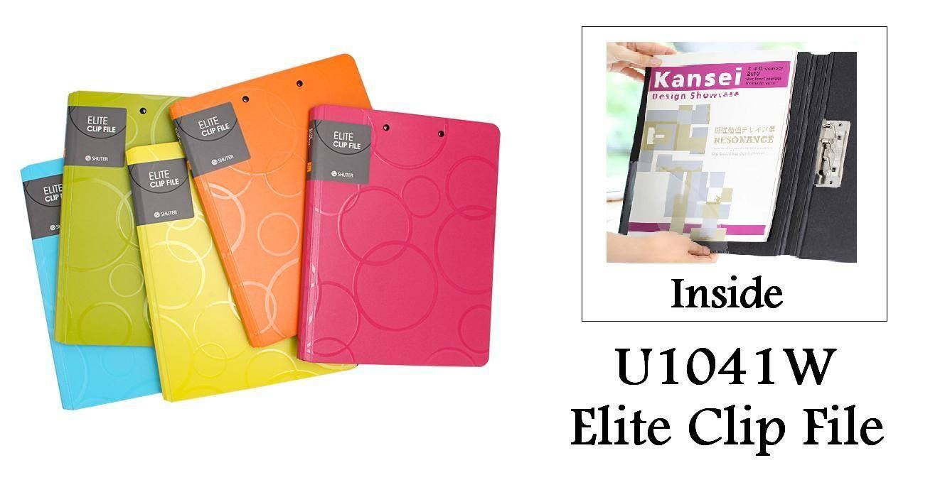 Shuter U1041W Elite Clip File