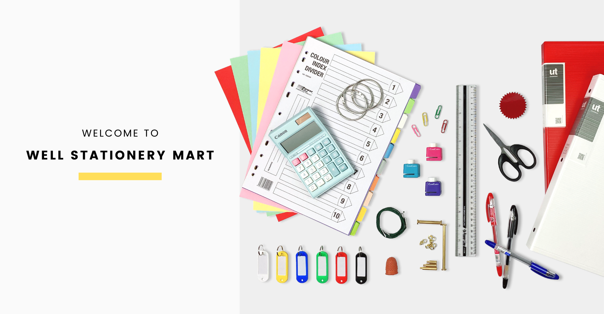 Welcome to Well Stationery