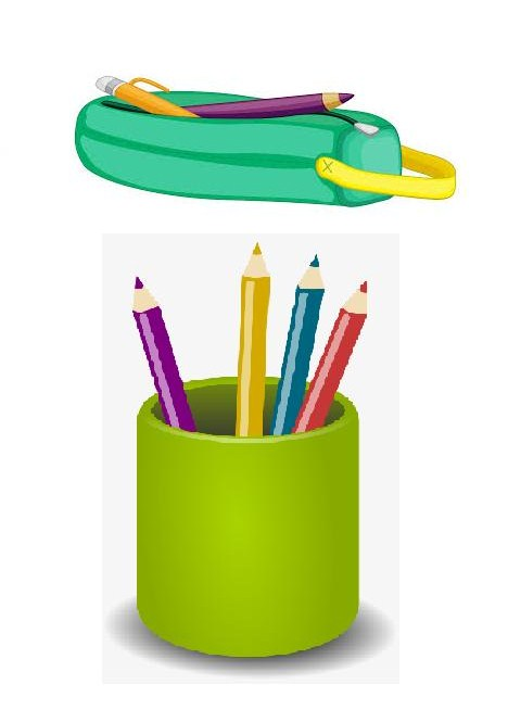 Pencil Bag & Holder